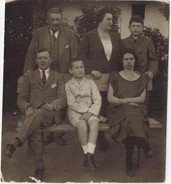Grosz Bernat Familie 1925